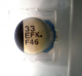 2 Stuks 33uF 25v Low ESR