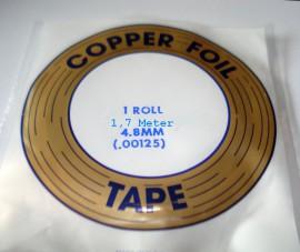 Koper Folie Tape 1,7 Meter 4,8mm