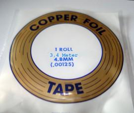 Koper Folie Tape 3,4 Meter 4,8mm
